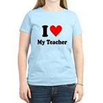 I Heart My Teacher: Women's Light T-Shirt