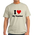 I Heart My Teacher: Light T-Shirt