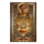 Steampunk Postcards (Package of 8)