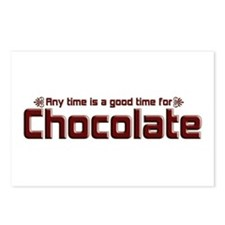 Any Time Chocolate Postcards (Package of 8)