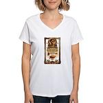 Steampunk Women's V-Neck T-Shirt