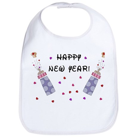 Happy New Year Bib
