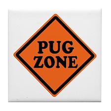 Funny Geek Zone Tile Coaster