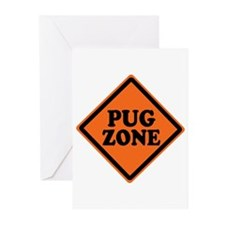 Funny Geek Zone Greeting Cards (Pk of 10)