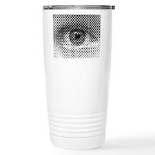 Eye Illusion Travel Coffee Mug