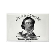 John Keats 01 Rectangle Magnet (10 pack)