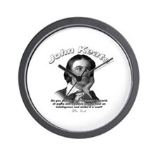 John Keats 01 Wall Clock