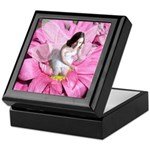 Pink Flower Fairy Keepsake Box