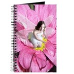 Pink Flower Fairy Journal
