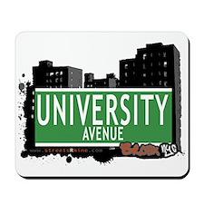 University Av, Bronx, NYC Mousepad