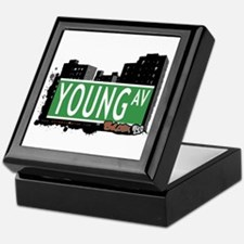Young Av, Bronx, NYC Keepsake Box