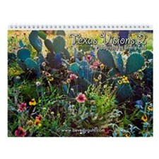 Texas Visions 2 Wall Calendar