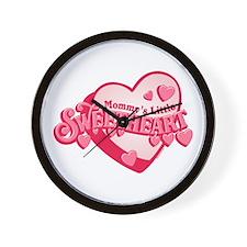 Mommy's Sweetheart Wall Clock