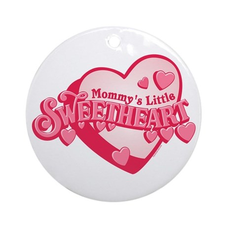 Mommy's Sweetheart Ornament (Round)