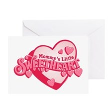 Mommy's Sweetheart Greeting Card