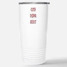 Cloth Diaper Addict Travel Mug
