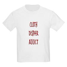Cloth Diaper Addict T-Shirt