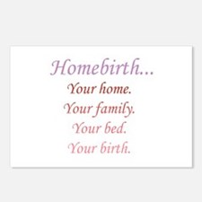 Homebirth is Yours Postcards (Package of 8)