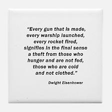 Eisenhower Tile Coaster