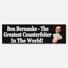 Bernanke - The Greatest Counterfeiter
