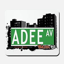 Adee Av, Bronx, NYC Mousepad
