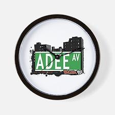 Adee Av, Bronx, NYC Wall Clock