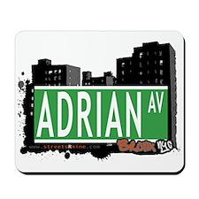 Adrian Av, Bronx, NYC Mousepad