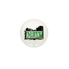 Adrian Av, Bronx, NYC Mini Button (100 pack)
