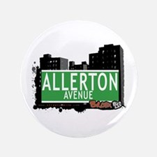 "Allerton Av, Bronx, NYC 3.5"" Button"