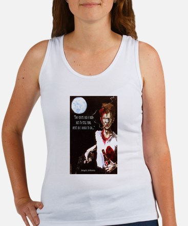 Angry Johnny-Two Shots & A Beer Women's Tank Top