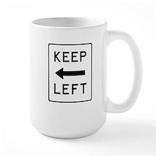 Keep Left Mug