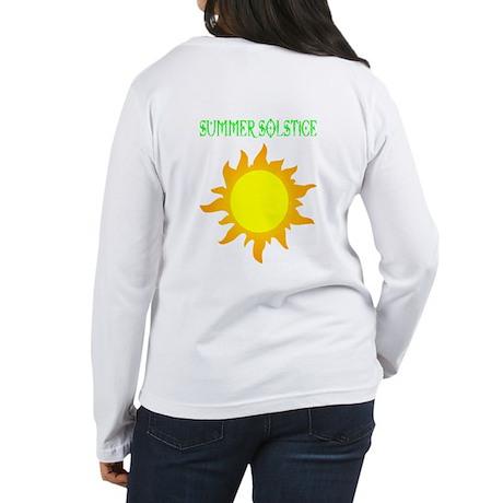 Summer Solstice Women's Long Sleeve T-Shirt