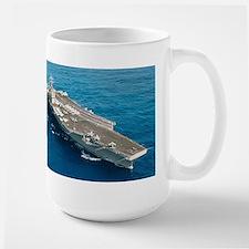 USS Abraham Lincoln Ship's Image Mug