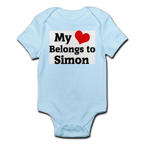 My Heart: Simon Infant Creeper