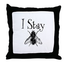 Stay Fly Throw Pillow