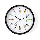 Fishing Wall Clocks