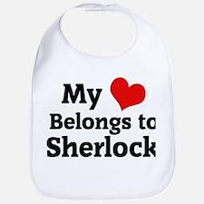 My Heart: Sherlock Bib