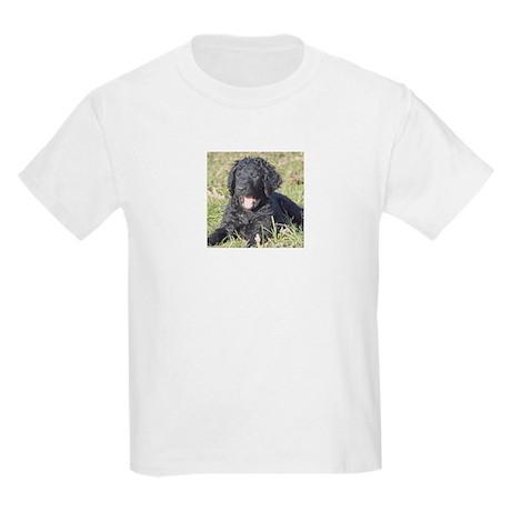 Curly Puppy = Love - Kids Light T-Shirt
