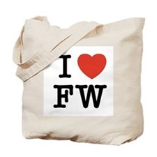 I Heart FW Tote Bag