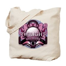 Twilight New Moon Crystal Indigo Crest Tote Bag