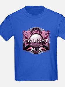 Twilight New Moon Crystal Indigo Crest T