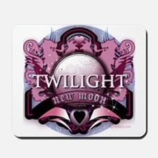 Twilight New Moon Crystal Indigo Crest Mousepad