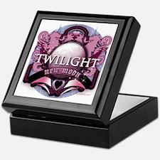Twilight New Moon Crystal Indigo Crest Keepsake Bo