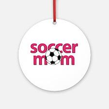 Soccer Mom Ornament (Round)