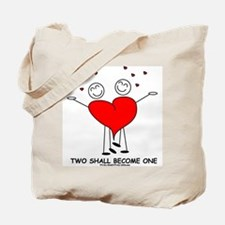 One Heart Tote Bag