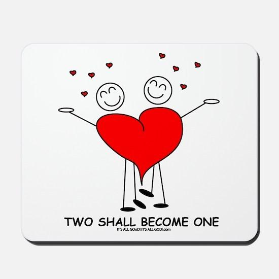 One Heart Mousepad