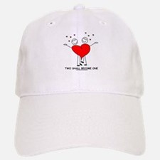 One Heart Baseball Baseball Cap