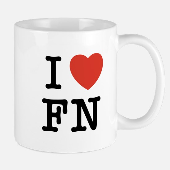 I Heart FN Mug