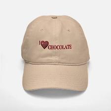 I Love Chocolate Baseball Baseball Cap