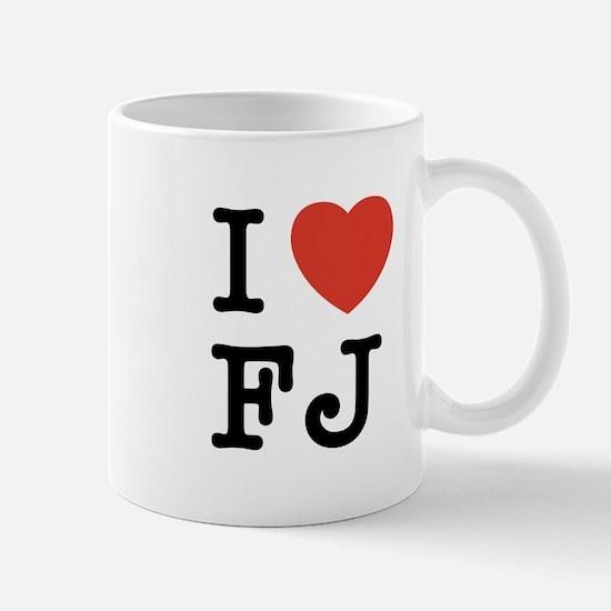 I Heart FJ Mug